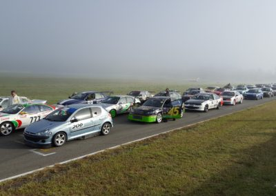 24 Hours of Lemons Start Grid