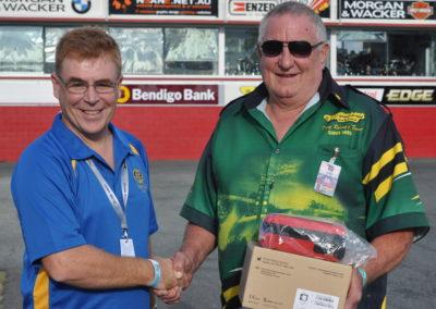 Presentation of Defibrillator to Willowbank Raceway