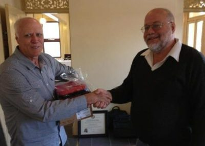 Presentation of a Defibrillator  to Marburg Community  Group